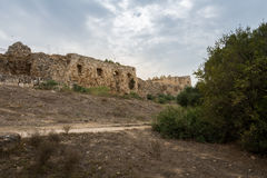 Antipatris Fort at Yarkon National Park Stock Photos