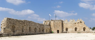 Antipatris Fortress Royalty Free Stock Photography