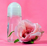 Antiperspirant and  Rose Stock Photos