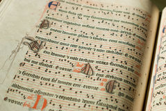 Antiphonary Stock Afbeeldingen