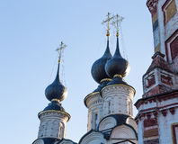 Antipius Orthodox church in city of Suzdal Russia Stock Photos