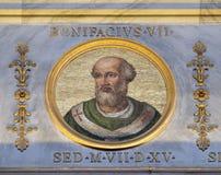 Antipope Bonifâcio VII Imagem de Stock Royalty Free