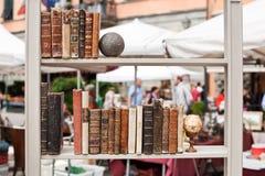 antiquarian σύνταγμα βιβλίων Στοκ Εικόνες