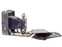 antiquarian φωτογραφική μηχανή αρμο& Στοκ εικόνα με δικαίωμα ελεύθερης χρήσης