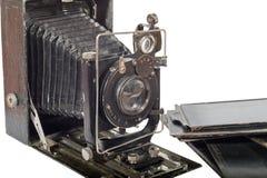 antiquarian φωτογραφική μηχανή αρμο& Στοκ εικόνες με δικαίωμα ελεύθερης χρήσης