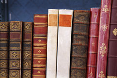 Antiquarian books Royalty Free Stock Images