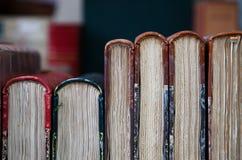 Antiquarian bookshop stock photos