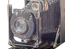 Antiquarian harmonious camera Royalty Free Stock Image