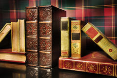 The antiquarian holder for books Royalty Free Stock Images