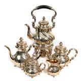 antiquarian teapots Στοκ εικόνα με δικαίωμα ελεύθερης χρήσης