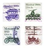 Antiquarian vehicles Royalty Free Stock Photos