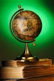 antique записывает глобус стоковые изображения rf