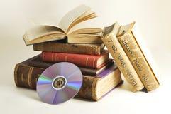 antique записывает компактный диск Стоковая Фотография RF
