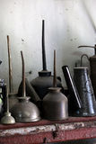antique консервирует масло Стоковое Изображение