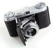 Antique 35mm film camera Royalty Free Stock Images