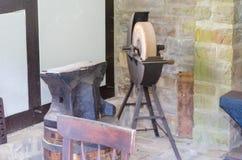 Antique abrasive stone, abrasive Bock Royalty Free Stock Photo