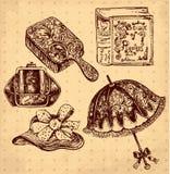 Antique accessories Stock Images