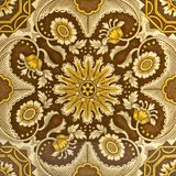 Antique Aesthetic Period Tile. An Aesthetic period original tile dating around 1875 with Islamic Persian design Royalty Free Stock Image