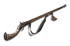 Antique Afghan cap rifle Royalty Free Stock Image