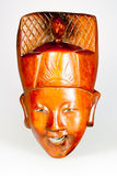 Antique African Congolese Mask Royalty Free Stock Image
