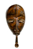 African Congolese Mask with Pipe Royalty Free Stock Images
