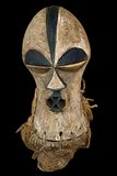 Antique African mask Royalty Free Stock Photo