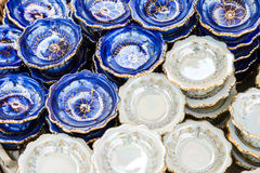 Antique afternoon tea coffee cup set Stock Photo