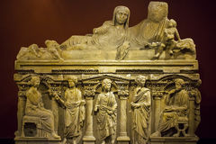 Antique age Marble  Statue Royalty Free Stock Images