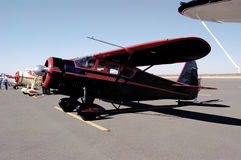 Antique Airplanes 1. Antique aircraft on display at an airshow in Arizona Royalty Free Stock Photos