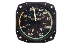 Antique Airspeen indicator royalty free stock photography