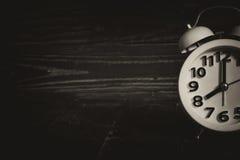 Antique alarm clock. Stock Photography