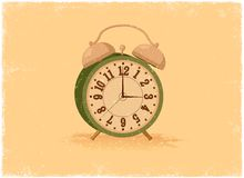 Antique alarm clock Stock Image