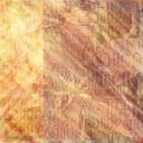 Antique Alphabet Background Stock Image