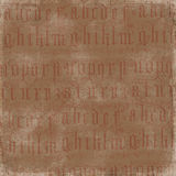 Antique Alphabet Background Royalty Free Stock Images