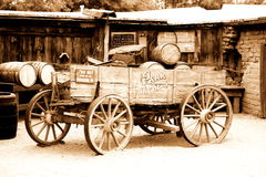 Antique american cart Royalty Free Stock Image