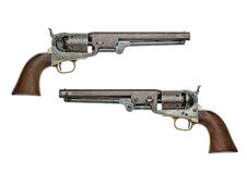 Antique American Colt Navy Percussion Revolver Royalty Free Stock Image