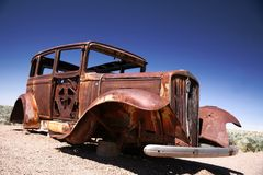 Antique american ford Royalty Free Stock Photo