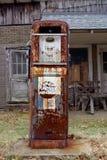 Antique American gas pump stock photo