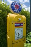Antique American Gas pump in rural Virginia Stock Images