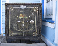Antique American safe Stock Photos
