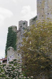Antique ancient walls of castle Royalty Free Stock Images