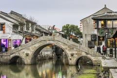 Antique Ansan bridge stock photography