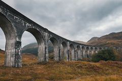 Antique aqueduct - glenfinnan viaduct, Scotland, United Kingdom Stock Images