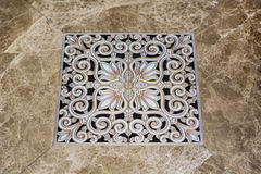 Antique arabic floor tiles Stock Photo