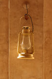 Antique arabic lamp lantern in dubai Stock Photos