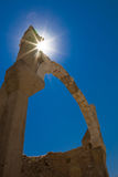 Antique Arc, Ephesus, Turkey. Antique Arc in sun rays, Ephesus, Turkey Stock Images