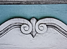 Antique architecture Bas-relief Stock Photos