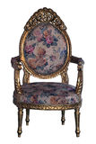 ANTIQUE ARM-CHAIR Stock Photo