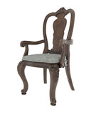 Antique arm chair Royalty Free Stock Photos