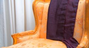 Antique armchair Royalty Free Stock Photography